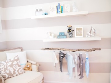 white-gray-stripes-hanging-branch-nursery
