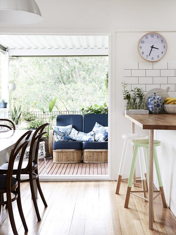 kitchen onto deck example