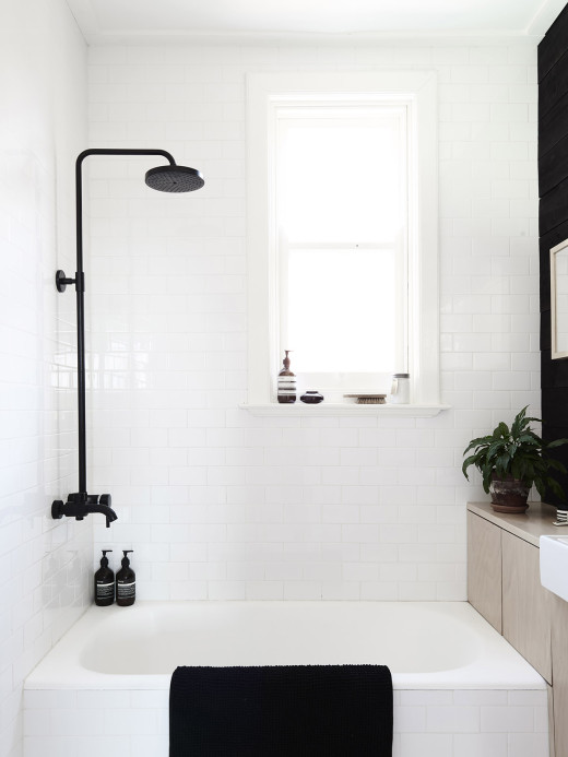 bathroom small & simple